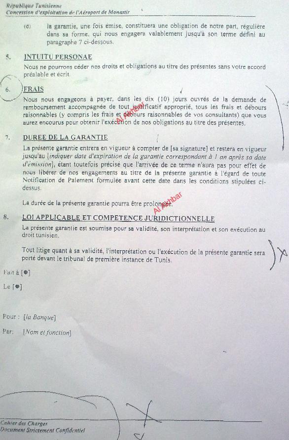 Ben ali et l 39 affaire de l 39 a roport de monastir les - Office de l aviation civile et des aeroports tunisie ...