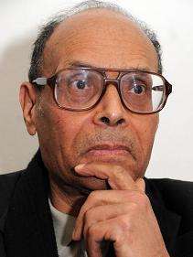 Moncef Marzouki - photo (AP)