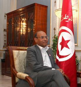 Président Moncef Marzouki - photo (Tap)