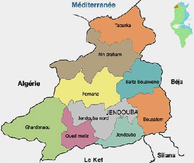 Gouvernorat de Jendouba - photo (tunisieindustrie.nat.tn)