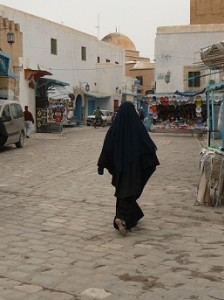 Niqab Kairouan - photo (H.B.)