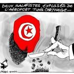 La Tunisie expulse deux salafistes... !