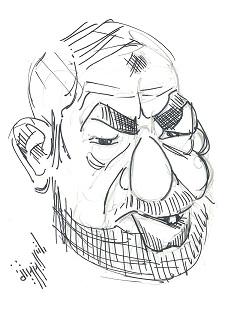 Rached Ghannouchi - Dessin, El Berbech