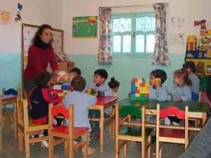 Jardin d'enfants à Tunis - photo (bds-forum.net)