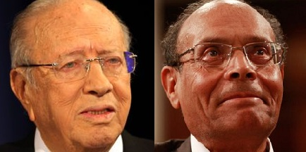 Essebsi - Marzouki