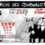 Grève des journalistes