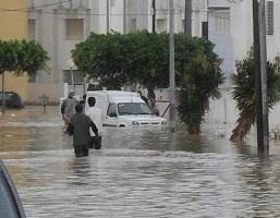 Des pluies, hier 13 novembre 2012, qui nous rappelle les inondations de 2011 - photo archives