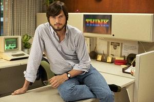 Ashton Kutcher as Steve Jobs (photo - businessinsider.com)