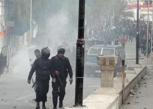Violents affrontements au Kef