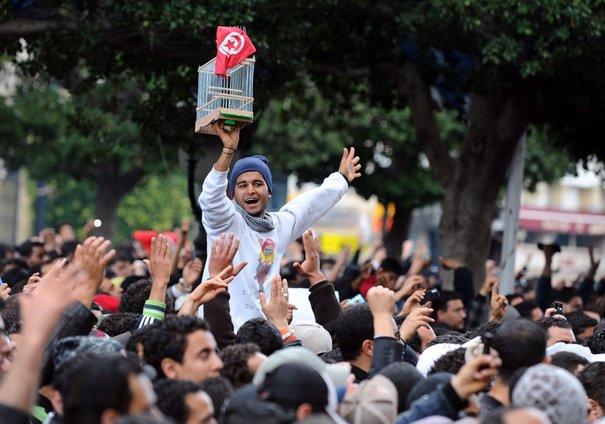 Révolution Tunisie (photo - l'express.fr)