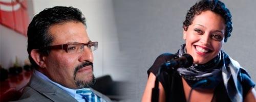 Rafik Abdessalem - Olfa Riahi (photo - tuniscope)