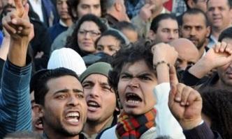 Manifestation à Tunis contre la cherté de la vie le chômage, samedi 8 janvier - photo archive ( AP-Hassene Dridi)