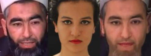 Morphing Adel Almi vs Amina - photo (webdo.tn)