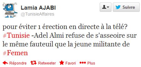 Tweet Adel Almi 2