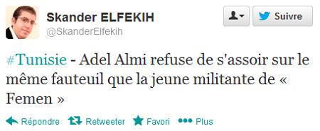 Tweet Adel Almi 3
