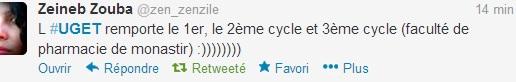 UGET - Tweet 3, 13 mars 2013