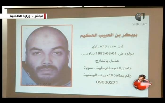 Le salafiste Boubaker El-Hakim, est l'ennemi n°1 de la Tunisie