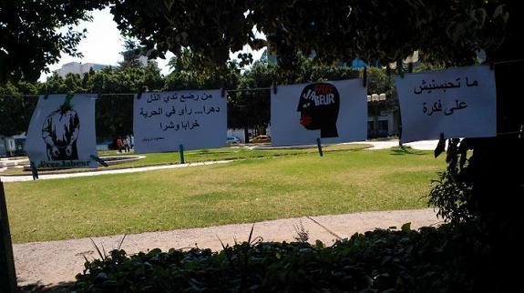 Les pancartes #FreeJabeur