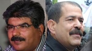 Mohamed Brahmi et Chokri Belaid