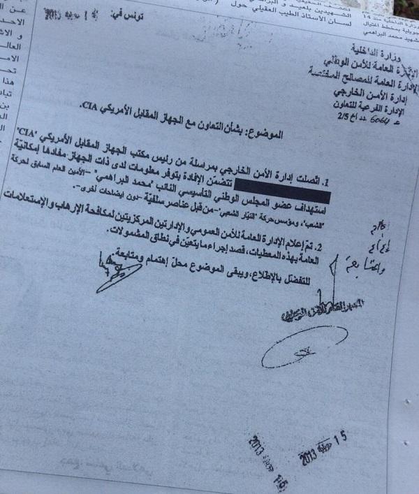 Document CIA (Crédit photo Ochlocratie)