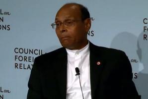 Marzouki au conseil des relations etrangeres US
