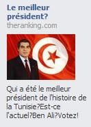 Sondage Ben Ali