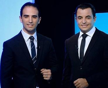 Mehdi Kattou et Hamza Belloumi, animateurs vedettes de Telvza TV