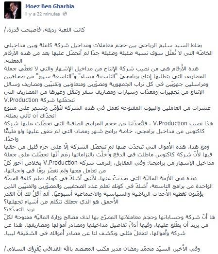 Moez Ben Gharbia 24-01-2014
