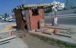 Construction anarchique (photo - Express FM)
