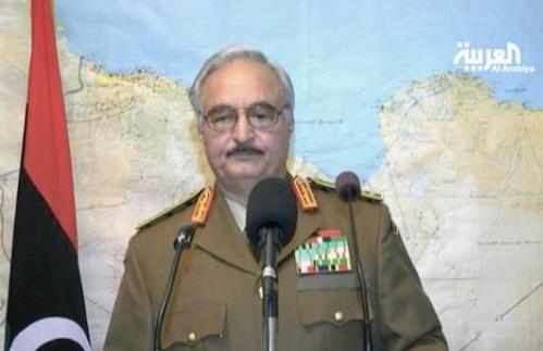 Khalifa Hafter (photo - Al Arabiya)