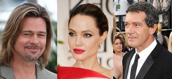 Brad Pitt - Angelina Jolie - Antonio Banderas