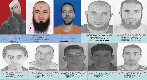 photos des terroristes recherches