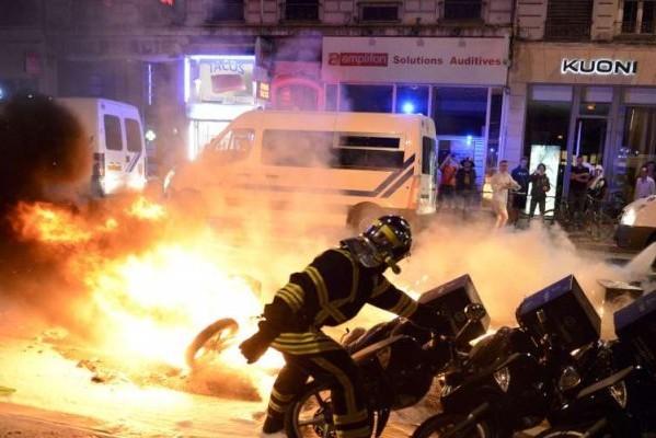Lyon - incidents