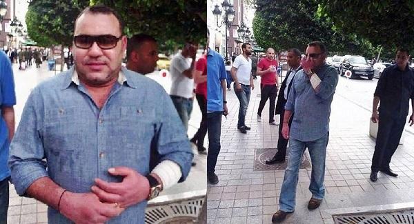 40 eme Anniversaire de la marche verte Marocaine Mohamed-6-avenue-Bourguiba