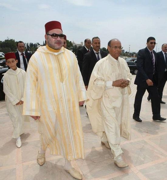 Mohamed VI - Marzouki 06-06-2014 (credit photo Presidence Republique) (4)