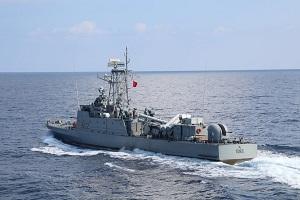 SNMG2 PASSEX with Tunisian Navy