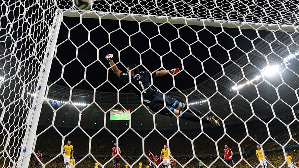 But David Luiz - Bresil - Colombie
