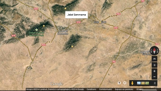 Jebel Semmama | Photo : Google Maps