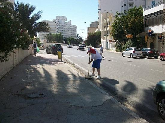 Thomas Cook - nettoyage Sousse 15-07-2014 (2)