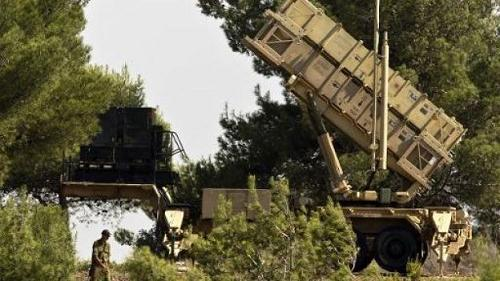 Une batterie de missiles Patriot sol-air