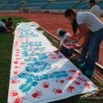 Campagne Hand print à Kasserine :