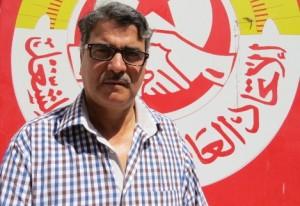 Kamel Abdelatif SG UGTT à  Tataouine | Webdo.tn |Lilia Weslaty