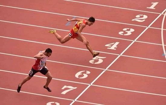 Mohamed Fares Jelassi (credit photo  Page FB du ministere de la Jeunesse et des Sports)