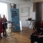 Bochra Bel Haj Hmida reçoit le prix Anna Lindh en Suède :
