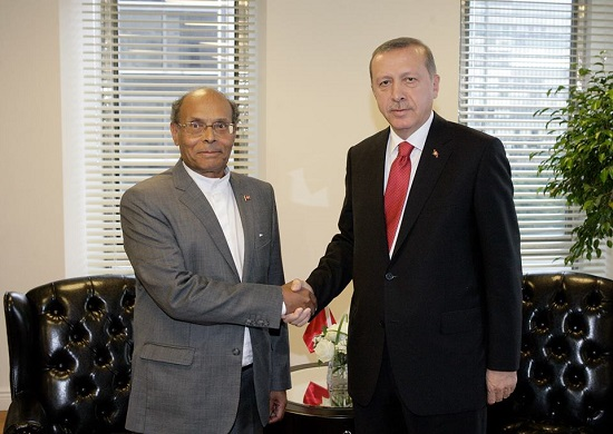 Marzouki-Erdogan (page officielle Fb de la presidence de la Republique)
