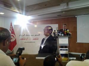 moncef marzouki candidat presidentielle adnene mansar