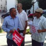 Arrêtés pour avoir distribué des tracts, des boycotteurs des élections dénoncent une confiscation de la Révolution