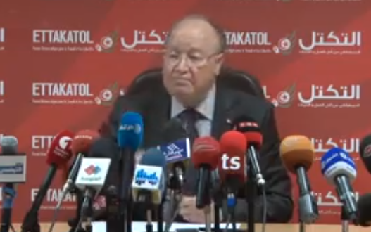 Conf de presse 29 octobre 2014 Tunis