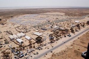 Le camp de Choucha en mars 2011. Crédit image : Major Soussi, Citizen59 sur Flickr)