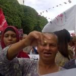 Une première en Tunisie : 27 organisations de la société civile manifestent ensemble contre la torture policière